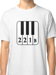221 B Natural Classic T-Shirt