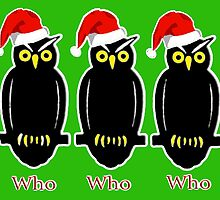 # Owls Who Who Who overlay by JimmyGlenn Greenway