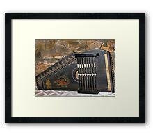 Silent Autoharp Framed Print