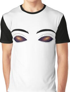 Starry sky in eye Graphic T-Shirt