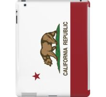 California Republic Flag iPad Case/Skin