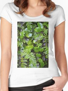 Where Ferns Grow Women's Fitted Scoop T-Shirt
