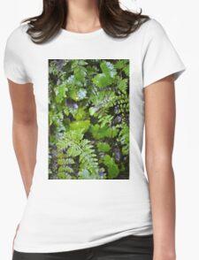 Where Ferns Grow Womens Fitted T-Shirt
