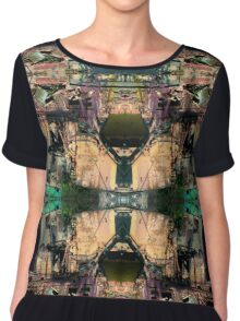 The Futurist Chiffon Top
