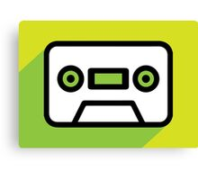 Audio tape icon Canvas Print