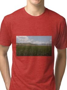 Castelluccio plane #2 Tri-blend T-Shirt