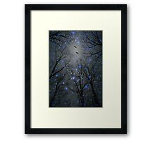 The Sight of the Stars Makes Me Dream (Geometric Stars Remix) Framed Print