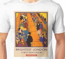 Vintage poster - Brightest London Unisex T-Shirt
