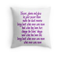 Healing Incantation Throw Pillow