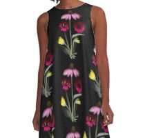 Daisy Bouquet A-Line Dress