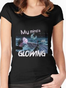 My Mind Is Glowing Women's Fitted Scoop T-Shirt