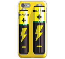 Battery Icon iPhone Case/Skin