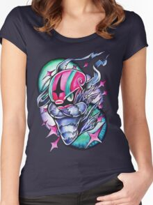 Accelgor Women's Fitted Scoop T-Shirt