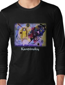 Kandinsky - Yellow-Red-Blue Long Sleeve T-Shirt