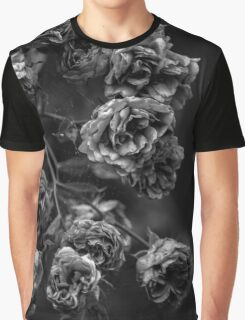 Black & white roses Graphic T-Shirt
