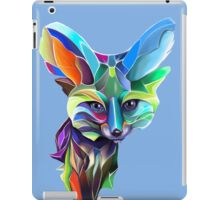 Kaleidoscope Fox; geometric poetry  iPad Case/Skin