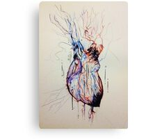 A Flood of Blood to the Heart Canvas Print