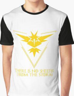 Minimal Pokemon Go - Team Instinct - Electric, lightning, yellow, anime Graphic T-Shirt