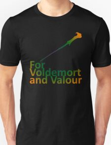 For Voldemort and Valour (UK) Unisex T-Shirt