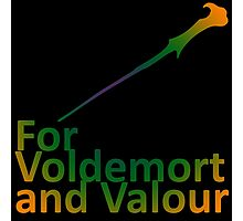 For Voldemort and Valour (UK) Photographic Print