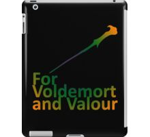 For Voldemort and Valour (UK) iPad Case/Skin