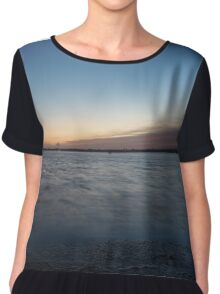 Colours of the sky Chiffon Top