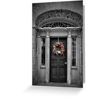 Union Hotel entrance Greeting Card