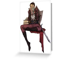 DAI crew Cassandra Greeting Card