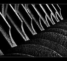""""""" Disc Plough ... Abstract """"  by Malcolm Heberle"""