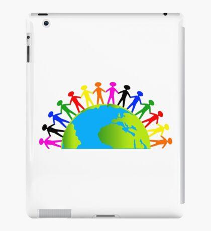 Kids/People United On Earth iPad Case/Skin