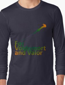 For Voldemort and Valor (US) Long Sleeve T-Shirt