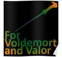 For Voldemort and Valor (US) Poster