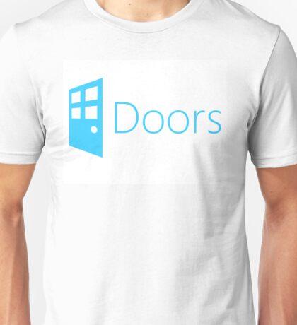Doors (Windows Parody) Unisex T-Shirt