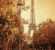 Eiffel Tower by Janine Whitling