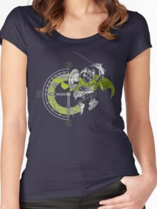 Chrono Frogo Women's Fitted Scoop T-Shirt