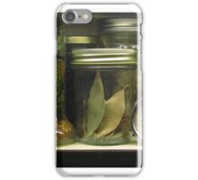 The Cupboard Spice Rack iPhone Case/Skin