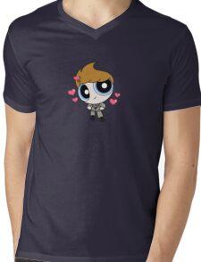 Tom Hiddleston Cute Powerpuff Mens V-Neck T-Shirt