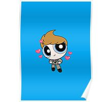 Tom Hiddleston Cute Powerpuff Poster