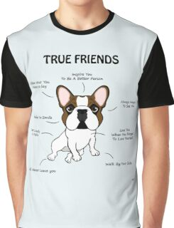 True Friends Frenchie  Graphic T-Shirt