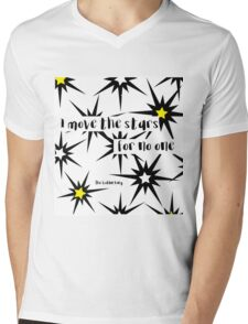 Goblin King Labyrinth Bowie quote Mens V-Neck T-Shirt