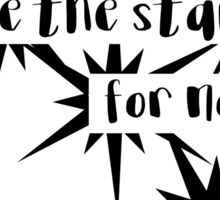 Goblin King Labyrinth Bowie quote Sticker