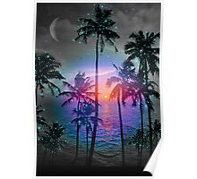 Dream of Paradise (Palm Tree Paradise) Poster