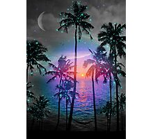 Dream of Paradise (Palm Tree Paradise) Photographic Print