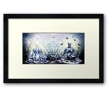 Experience So Lucid, Discovery So Clear Framed Print