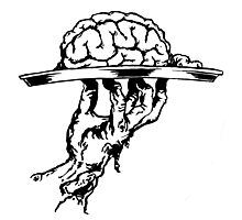 Brain On a Platter Ink Photographic Print