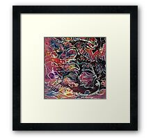 Chasing Reality Framed Print
