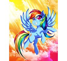 Rainbow Dash Photographic Print
