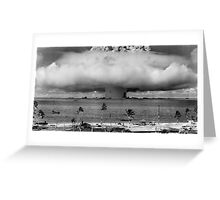 Bikini Atoll Nuclear Test Greeting Card
