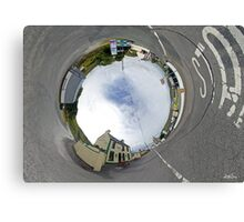 Glencolmcille - Biddy's Crossroads Pub(Sky-in) Canvas Print