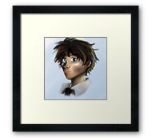 Pastel Person Framed Print